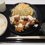 親子丼 トリカイ エクスプレス - タルタルチキン南蛮定食S ¥720+税