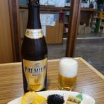 てんまさ - 瓶ビール:550円