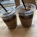 ステレオ コーヒー - アイスコーヒー(550円)
