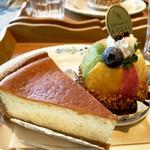 コサイ - 焼きチーズケーキ、シェフの気まぐれタルト