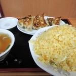 玉子炒飯・焼き餃子(6個)