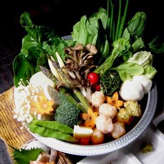 季節ごとに変わる【菜'sの創作コース】は、3,500円~♪