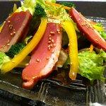 シンちゃん - 紅茶合鴨サラダ