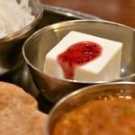 南インド料理ダクシン - 【南インド肉料理ミールズ@2,050円】デザート