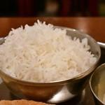 南インド料理ダクシン - 【南インド肉料理ミールズ@2,050円】バスマティライス
