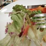 ジョナサン - [料理] グリーンサラダ アップ♪w ②