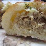 ミッレ ペルラ - ツナのパン 断面