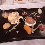 資生堂パーラー サロン・ド・カフェ - 季節の和栗のデザート