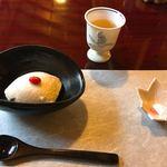 松籟庵 - 梅酒とお豆腐