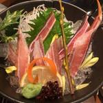 魚菜家 旬蔵 - 蟹刺し