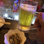 美ん美ん - 《オリオンビール》500円 (税別)