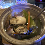 美ん美ん - 《一人鍋》800円に牡蠣が入ってました♪