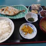 カネシチ水産 - カイワリの焼き魚定食