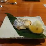 柏庵 - 太刀魚の塩焼き