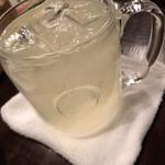 ワインカフェ - レモンサワー