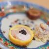 """三笠鮨 - 料理写真:""""雲子(くもこ)""""+""""藜鰕(あかざえび)""""+""""魚子醬(てふざめはらこ)"""""""