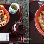 パノラマテラス 海の庭 - 紅白丼セット。パノラマテラス海の庭(静岡市由比宿)食彩品館.jp撮影