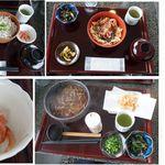 パノラマテラス 海の庭 - 当日の実食一覧。パノラマテラス海の庭(静岡市由比宿)食彩品館.jp撮影