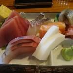 居酒屋 満福 - 料理写真:刺身盛り合わせ 1,000円(~18:30までのサービス価格)