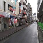 山七 - 新丸子駅を出てすぐです