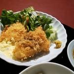 赤坂 多に川 - 魚料理:メカジキのフライは
