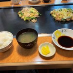 鉄板焼きぬまけ - 料理写真:ご飯(中)です。
