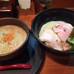 京都 龍旗信 - 鶏たいたんつけ麺