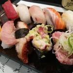 廻る富山湾 すし玉 - サービス・ランチ1080円