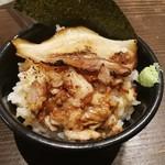 岩本屋 - チャーシューご飯+餃子で330円