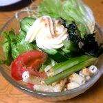 三福 - 生野菜¥450 2018.11.2