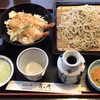 手打ちそば 青々庵 - 料理写真:天丼セット そば大盛り  1,150円