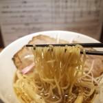 河内の中華そば 醤 - 麺リフト~
