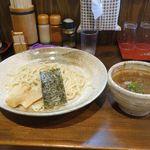 麺屋たつみ 喜心 - 10分ほどで「秩父味噌つけ麺」が完成!