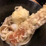 本町製麺所 天 - 竹玉天ぶっかけ♪ 750円