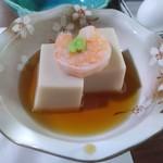 井上 - ゴマ豆腐