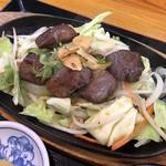 おいちゃんち - 料理写真:ハラミの鉄板焼き定食