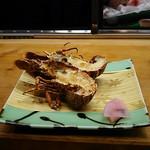 松すし - ●おまかせコース料理 10,000円+税=10,800円  (付出し、造り盛、焼物、蒸物、にぎり2貫) 2019年02月