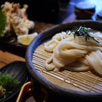 山元麺蔵 - 鶏ささみ天ざる