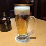 とんかつ まい泉 - 生ビール