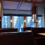 とんかつ まい泉 - 大阪駅内が見下ろせるかな?