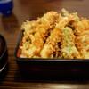 豊川 - 料理写真:味わい深い天重