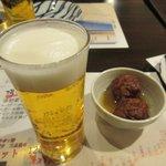 オハシ - 生ビール&お通し2019.02.04