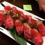 101596378 - 肉寿司