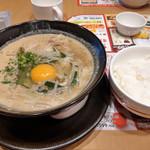 ガスト - 料理写真:徳島ラーメンご飯付き~☆