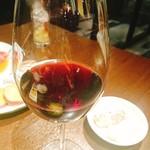 焼肉グレート - 途中から赤ワイン