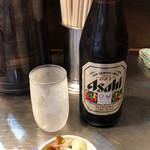 滝野川 大勝軒 - 料理写真:グラス冷えてます