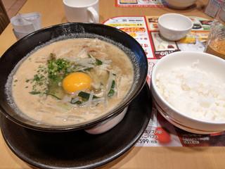 ガスト - 徳島ラーメンご飯付き~☆