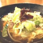 をうみ - 料理写真:和風ちゃんぽん 680円