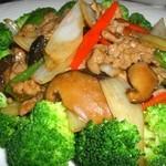 西安刀削麺酒楼 - 柔らか牛肉のオイスターソース炒め