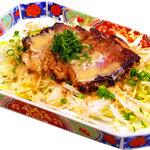 味喰笑 - 国産牛ハーフステーキ 850円(税込) 少しお肉が欲しいの要望にお応えしました。